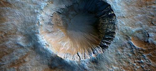 Mars - Crater