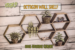 crate's Octagon Shelf for Saturday Sale!