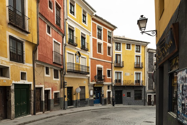 Calle Alfonso VIII. Cuenca.