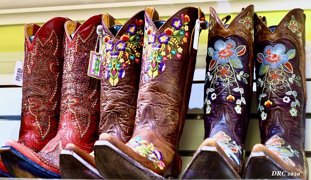 Boots at The Wind and the Willows Shop - 5th Ave Naples Florida
