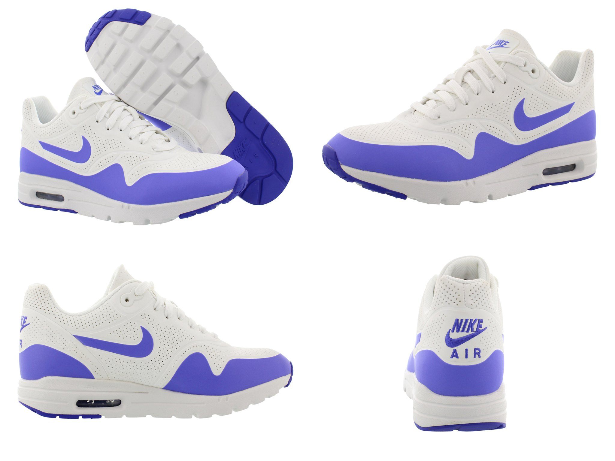 Colectivo sitio esposa  NEW WOMENS NIKE AIR MAX ULTRA MOIRE WHITE VIOLET ATHLETIC RUNNING SHOES  SIZE 11 91209281017 | eBay