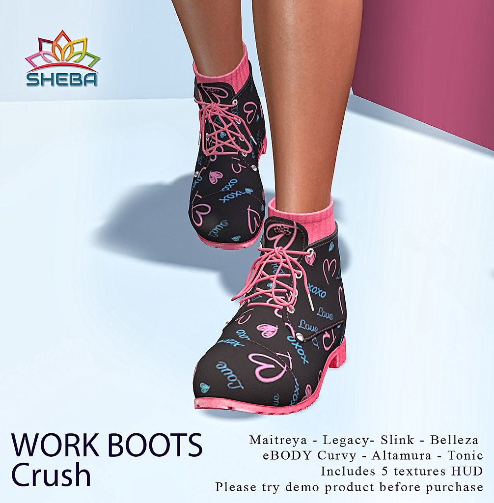 [Sheba] Work Boots *Crush @FBF
