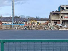 Demolition of Ards Leisure Centre
