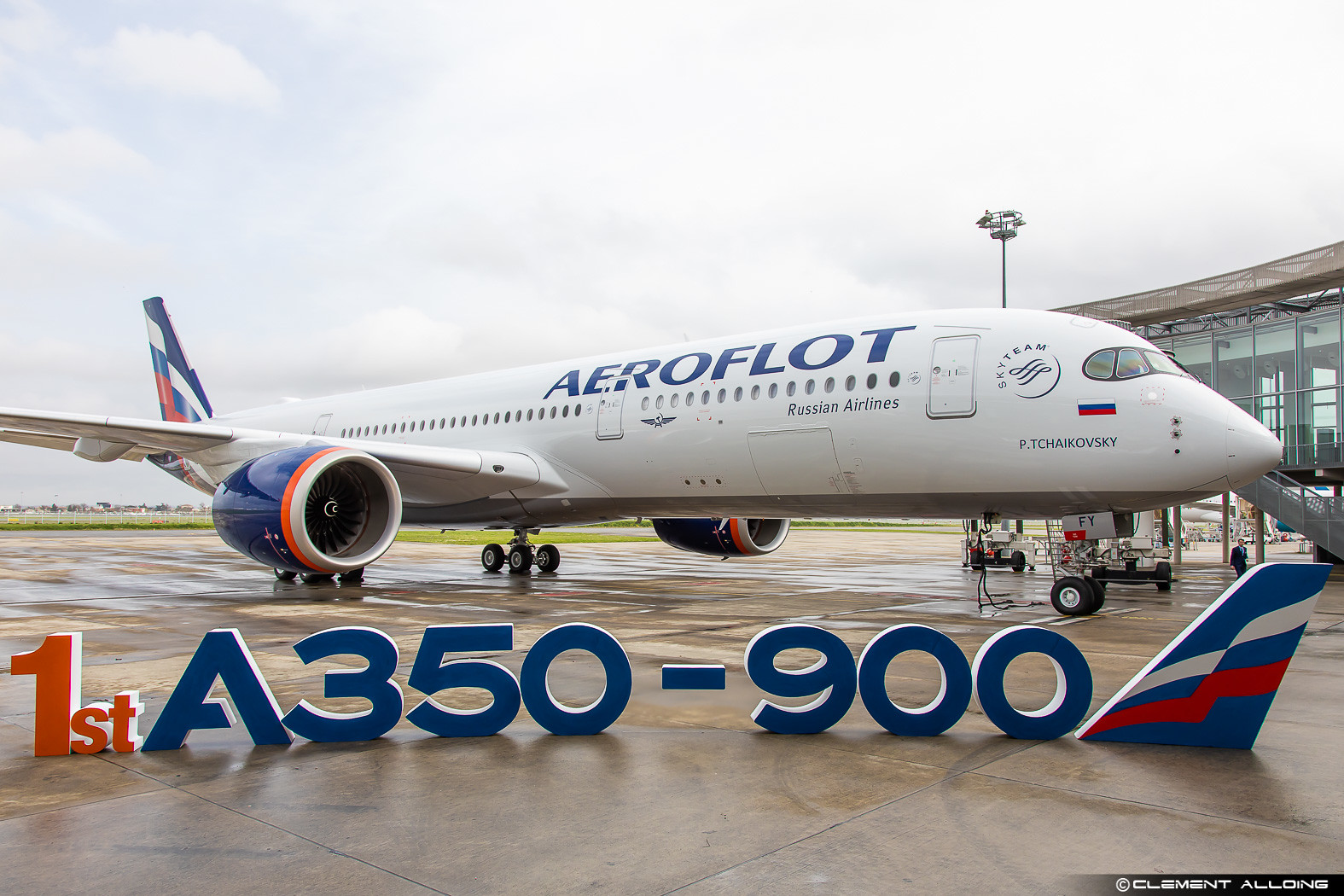 Aeroflot - Russian Airlines Airbus A350-941 cn 383 VQ-BFY
