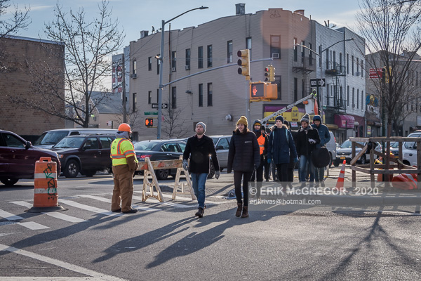 10 XR NYC activists arrested at North Brooklyn Pipeline blockade