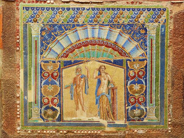 Casa de Neptuno y Anfitrite. Herculano 🇮🇹