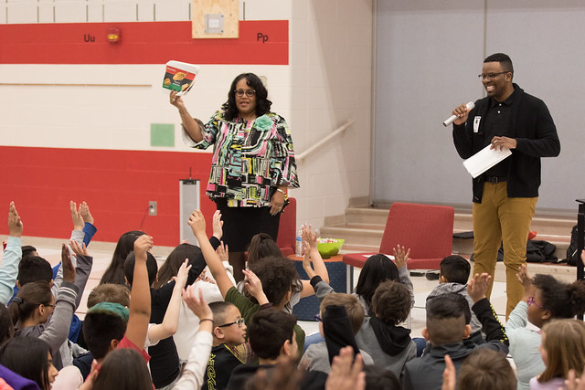Black History Month Wraps up at DMPS