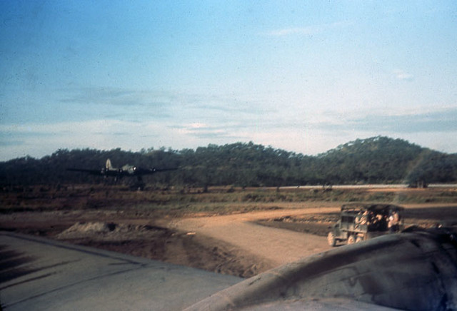 B-17 landing