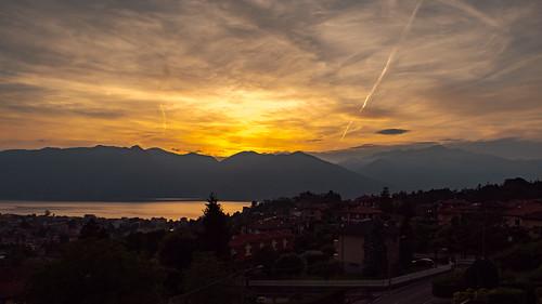 leicadg1260 landscape italy italia lagomaggiore gh5 16x9 sunset