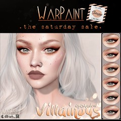WarPaint @ TheSaturdaySale - Villainous eyeshadow