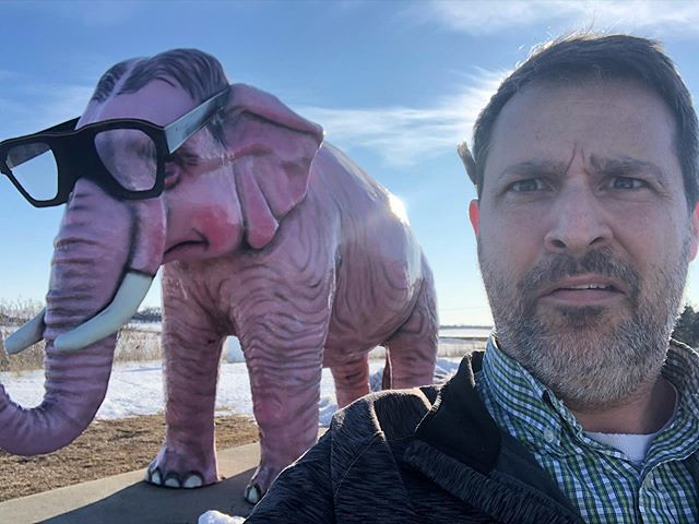 Wisconsin is weird. Pachyderm? More like WACKYderm!