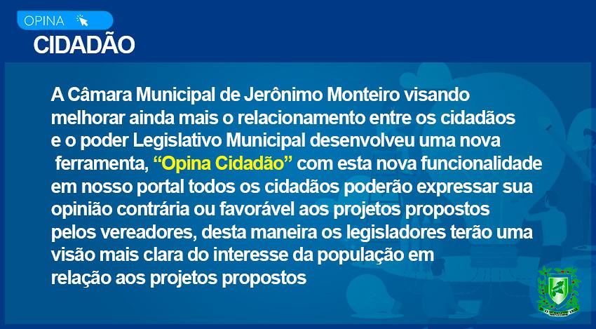Lançamento de nova ferramenta para a Câmara Municipal de Jerônimo Monteiro
