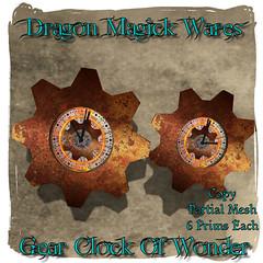 Gear Clock Of Wonder