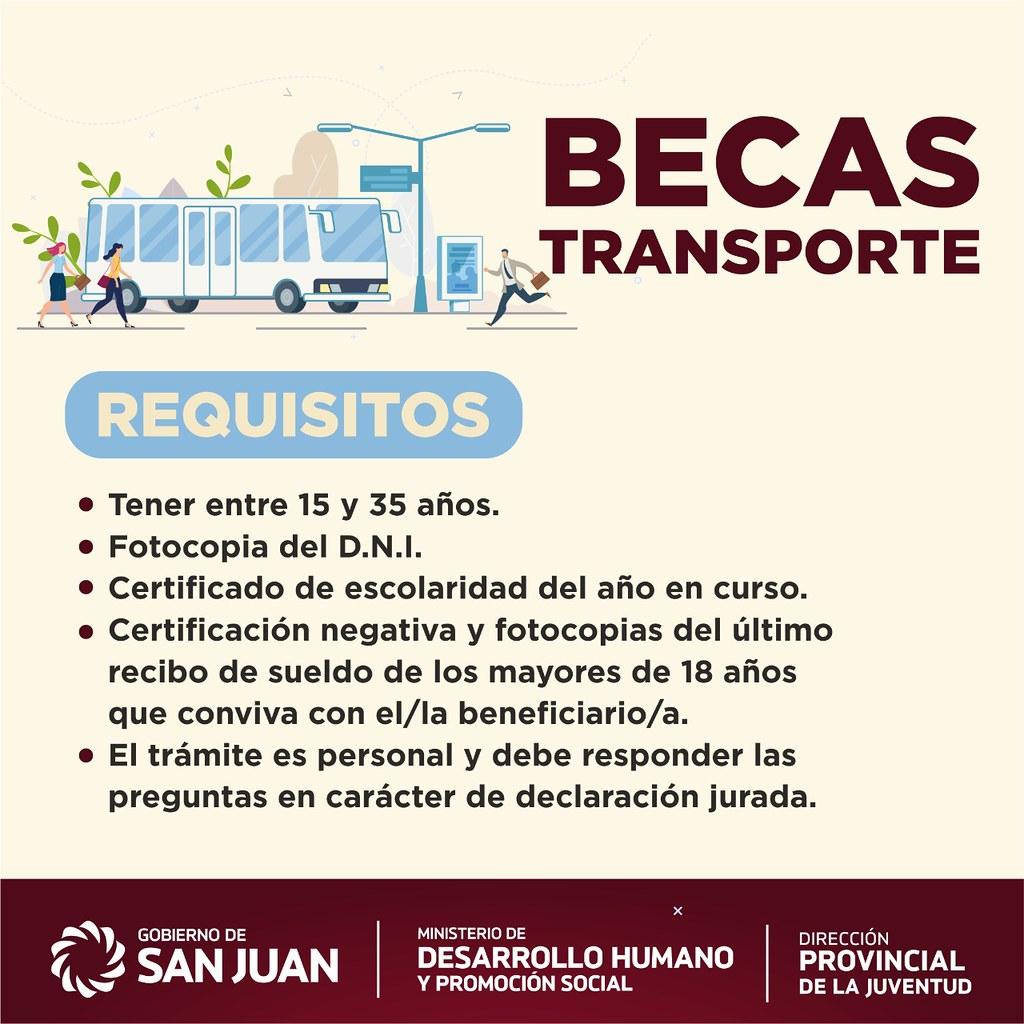 2020-02-28 DESARROLLO HUMANO: Becas Transporte Escolar
