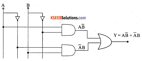 2nd PUC Electronics Previous Year Question Paper March 2019 4