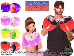 Junk Food - Powpow Gloves Ad