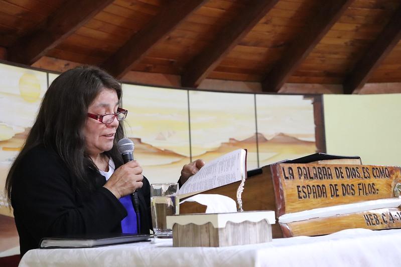 """""""Sobre ti fijaré mis ojos"""": Devocional de Pastoras día Viernes en 111ª Conferencia IMPCH"""