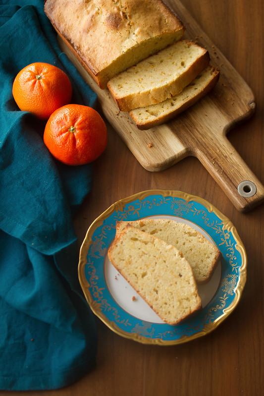 Clementine Cardamom Pound Cake