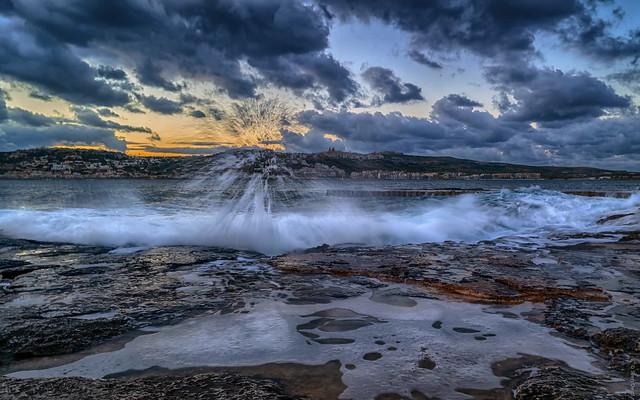 Morgens an der Küste [Mellieħa - Malta]