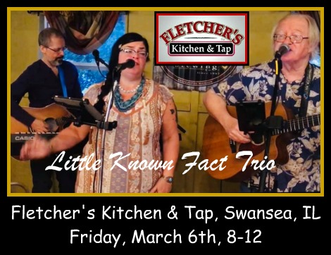 Little Known Fact Trio 3-6-20