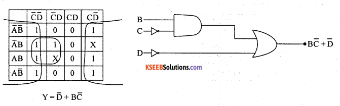 2nd PUC Electronics Previous Year Question Paper March 2019 12