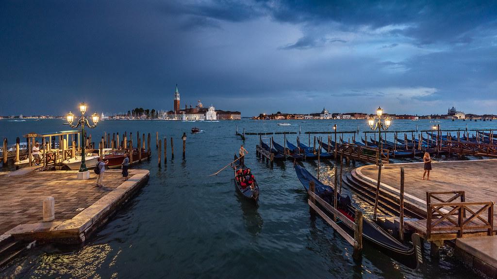 Venice in blue...