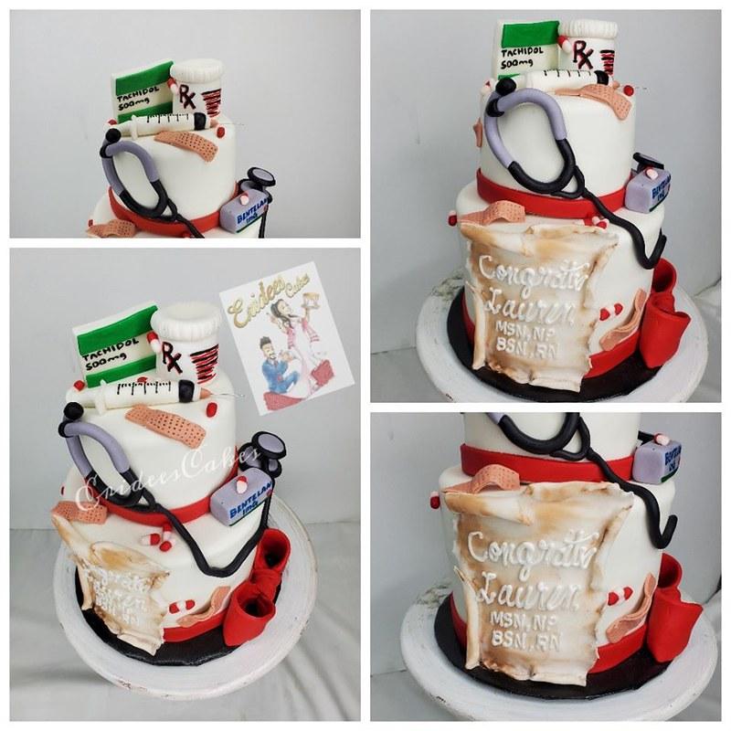 Cake by Eridee's Cakes