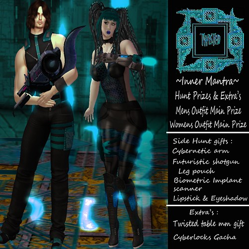 +Inner Mantra+ Twisted Hunt Prizes & Extra's