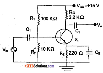 2nd PUC Electronics Previous Year Question Paper March 2018 4