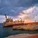 Edro III Shipwreck near Paphos, Cyprus