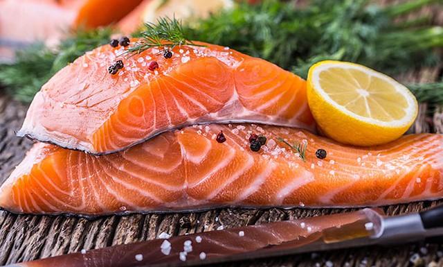 dinh dưỡng cá hồi