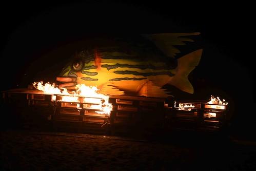 Resultado de imagen de El Carnaval Pirata de San Bartolomé se despidió con la quema del Guachinango