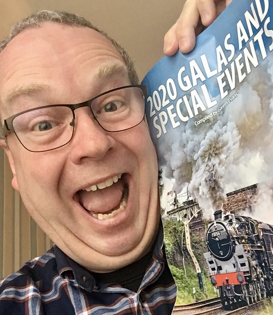 Excited Steam Train Gala Spotter