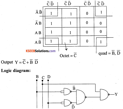 2nd PUC Electronics Previous Year Question Paper June 2018 12