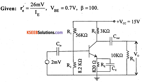 2nd PUC Electronics Previous Year Question Paper June 2018 4