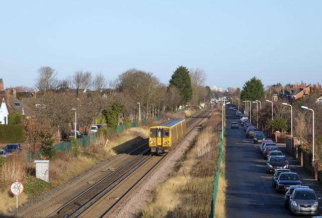 Merseyrail 508 137 Hillside