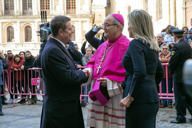 Toma de posesión del nuevo arzobispo de Toledo