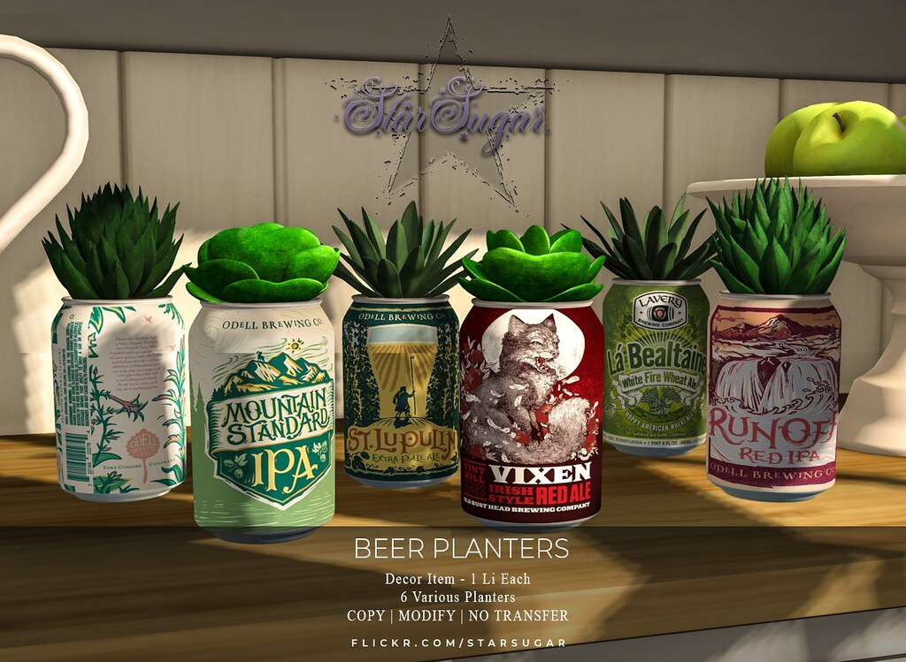 Beer Planters