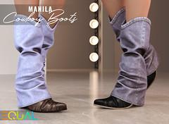 EQUAL - Manila Cowboy Boots