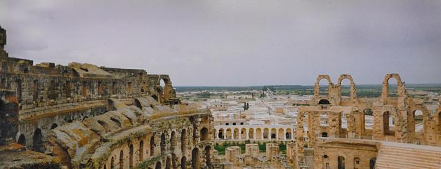 El Djem TN - Amphitheatre  1992 07