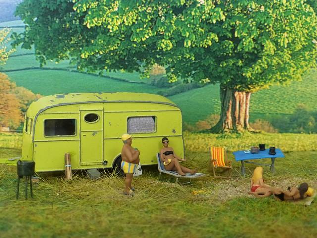 Berkley Cavalier caravan, 1955