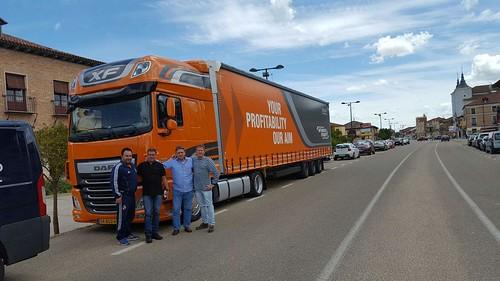 Claudi Herguido amb l'Alberto F Puerta a Medina del Campo