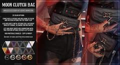 AsteroidBox. Moon Clutch Bag - Saturday Sale