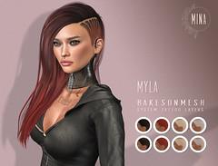 MINA Hair: Myla Hairbase BOM