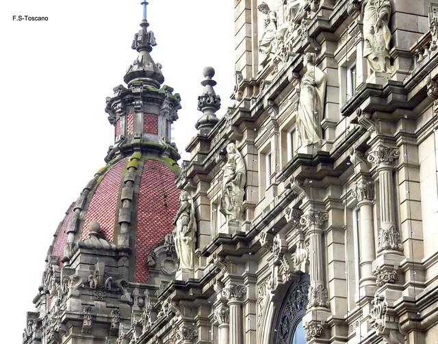 Pacio do Concello 2. Town Hall 2. A Coruña.