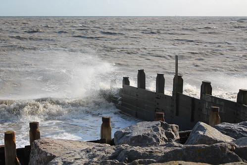 Walk along the seashore with Storm Jorge.