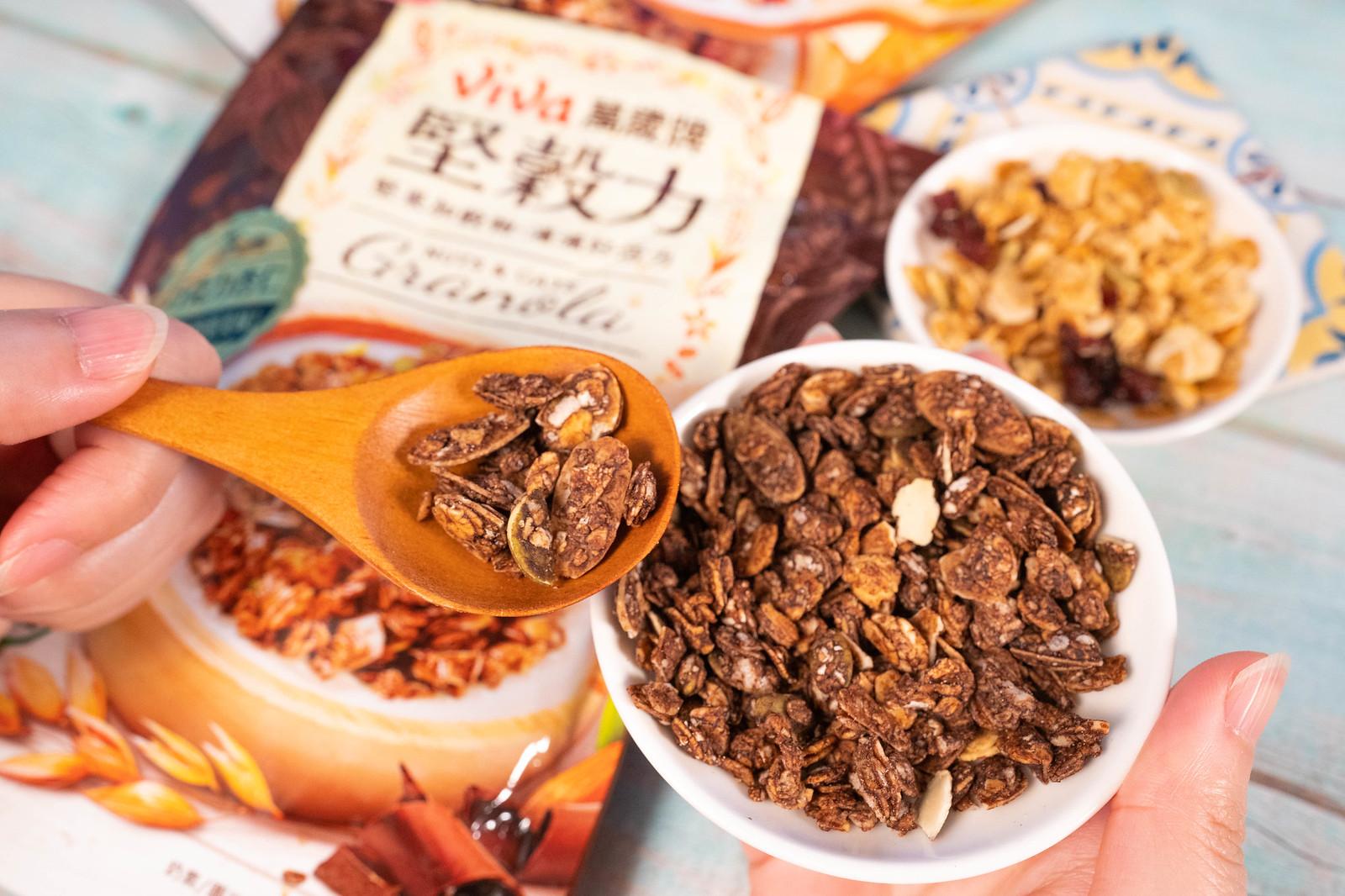 萬歲牌堅穀力 巧克力杏仁 口味