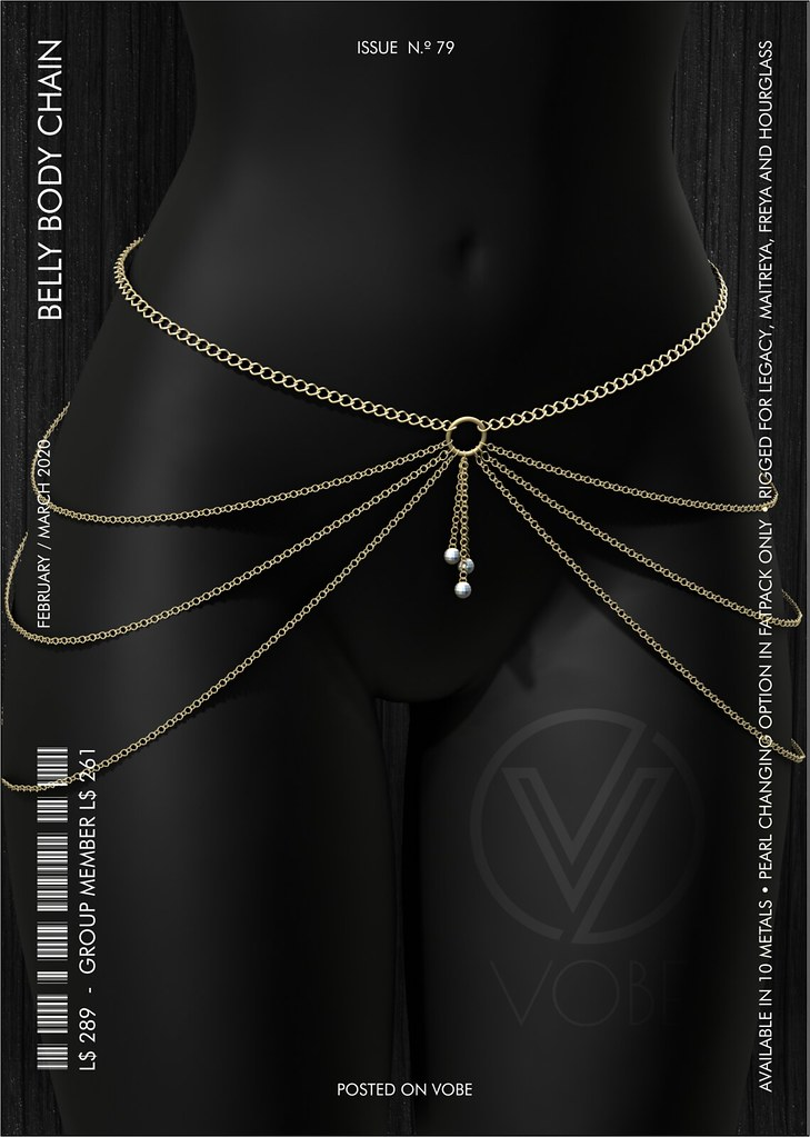 "VOBE for Kinky Event – ""Belly Body Chain"""