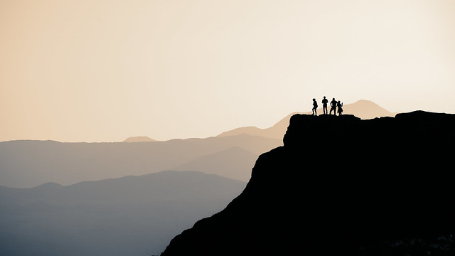 Sunset Impression - Anza Borrego Desert State Park, California
