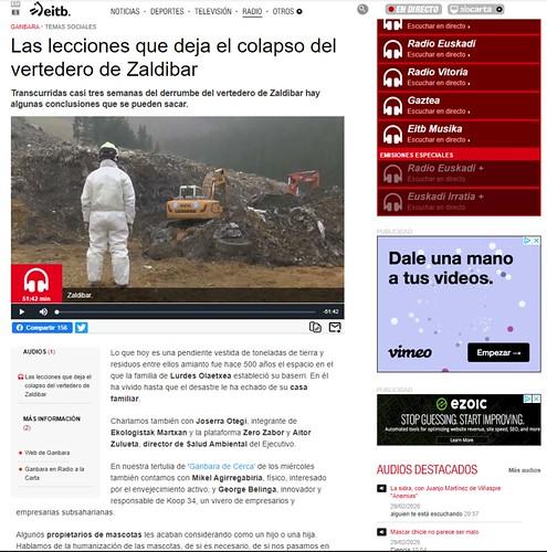 Ganbara de Radio Euskadi de 26-2-2020